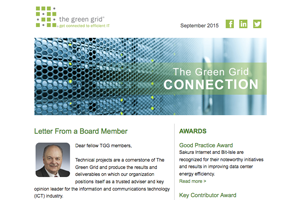 The Green Grid Newsletter